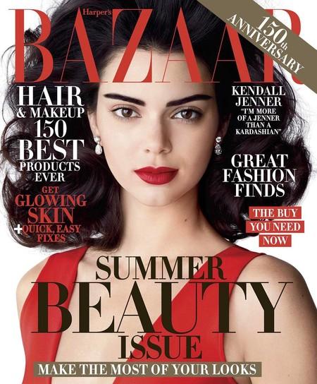 Una versión de Kendall Jenner mucho más mayor protagoniza la portada de Harper's Bazaar
