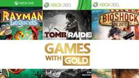 Rayman Legends, Tomb Raider y BioShock Infinite son los 'Games with Gold' de Marzo en Xbox