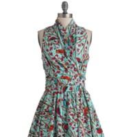 vestido estilo retro modcloth