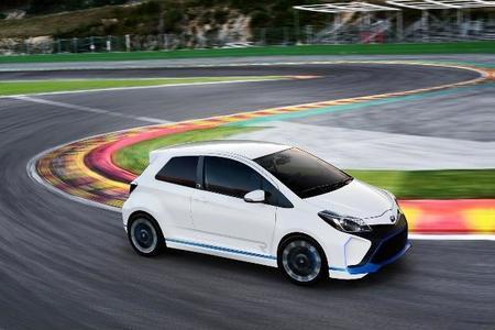 Toyota Yaris Hybrid R Concept