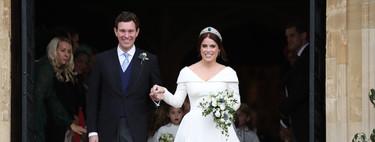Boda de la princesa Eugenia de York y Jack Brooksbank: repasamos el perfecto look de la novia