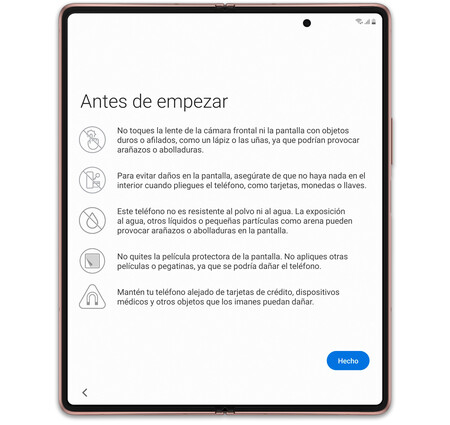 Samsung Galaxy Z Fold 2 04 Advertencia