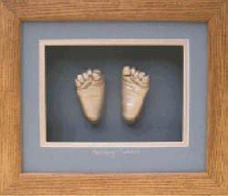 Babyprints: piecitos enmarcados