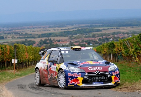 Rallye de Alsacia 2012: tres de tres para Thierry Neuville en la sesión matinal del domingo