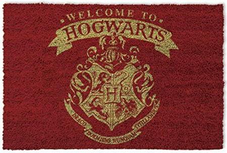 Harry Potter Bienvenidos A Hogwarts Felpudo Alfombrilla 60 X 40cm