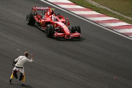 Raikkonen Kovalainen Brasil F1 2007