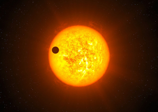Artist S Impression Of Exoplanet Corot 9b