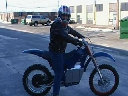 Kit Ready2EV para transformar la moto de motocross a eléctrica