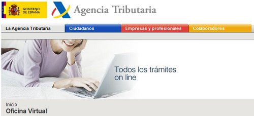 La agencia tributaria transforma la oficina virtual en for Oficina virtual tributaria