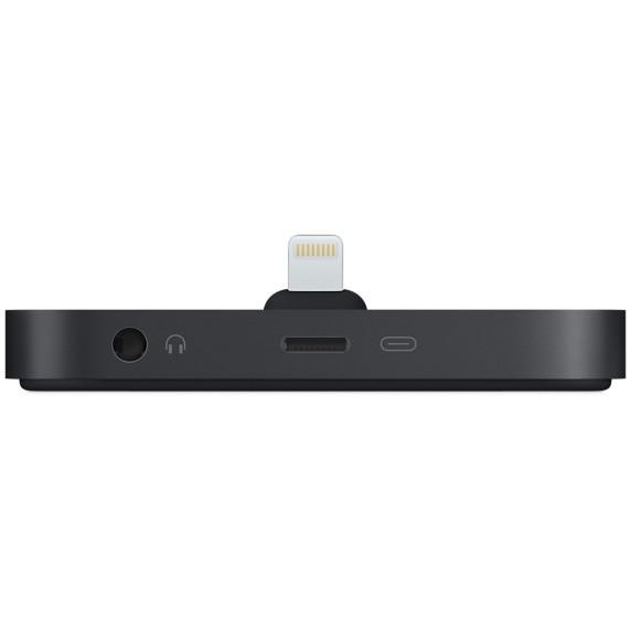 iPhone Lightning Dock: carga, jack y soporte para tu mesilla
