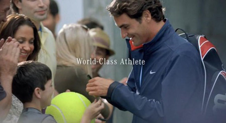 Federer Word-Class Athlete
