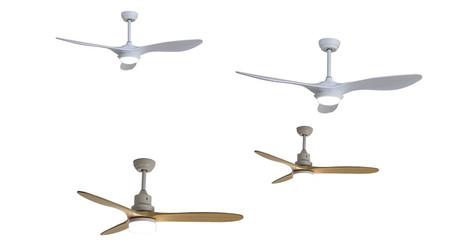 Estos dos ventiladores de techo de SPC se integran en el hogar conectado para controlarlos con la voz o con el móvil