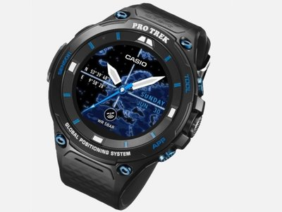 Casio Pro Trek Smart WSD-F20S, un smartwatch edición limitada con Android Wear 2.0