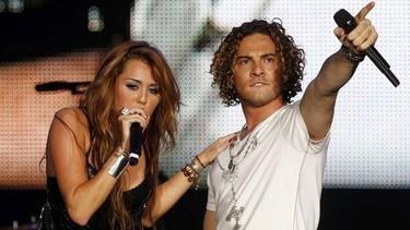 David Bisbal y Miley Cyrus juntos en el Rock in Rio con más pena que gloria