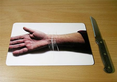 La tabla de cortar más sangrienta