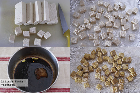Tofu Horno Pasos