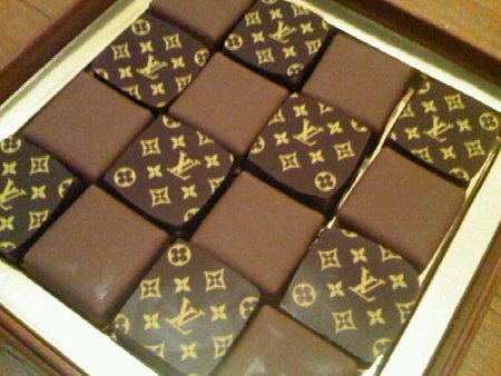 Vuitton Miroir Chocolates