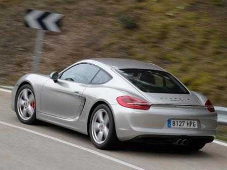 Porsche Cayman S 2013 trasera