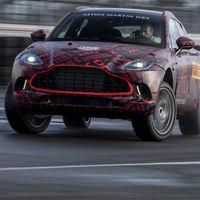 El Aston Martin DBX estrenará el V8 biturbo de 550 CV del AMG GT C. Y suena de maravilla