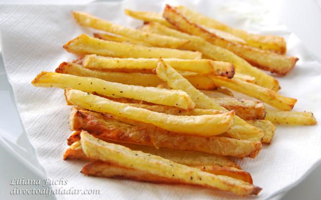 Receta de patatas fritas al horno - Patatas pequenas al horno ...