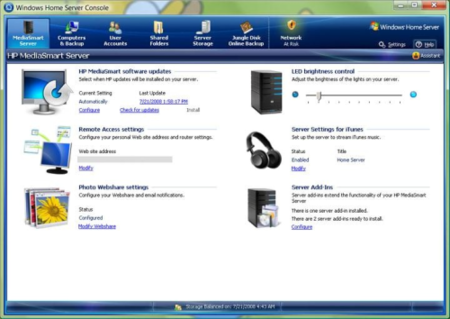 El Power Pack 3 de Windows Home Server se enfoca en la integración con Windows 7