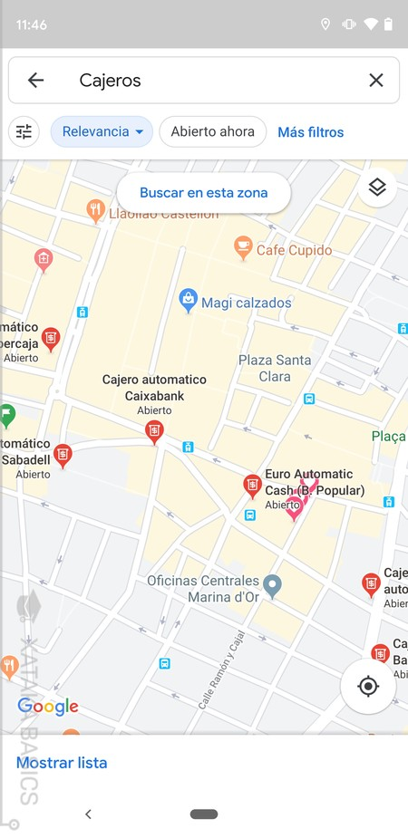 Cajeros En Mapa