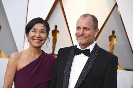 Woody Harrelson And Laura Louise