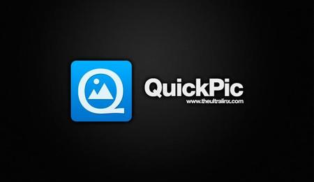 QuickPic se actualiza con un diseño inspirado en Material Design