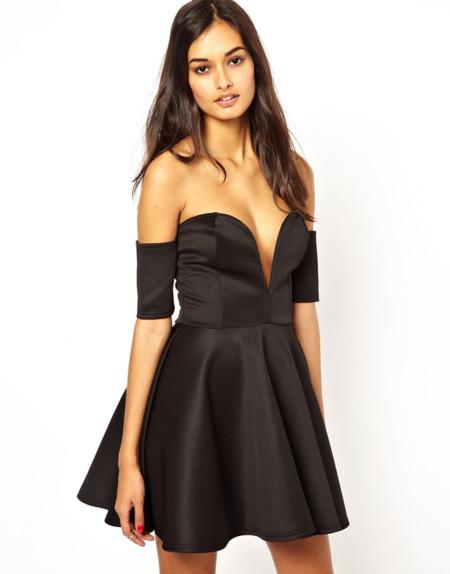 Vestido negro Stella McCartney clon Asos