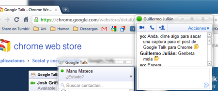 Google lanza Google Talk para Chrome OS (o para Chrome, en general)