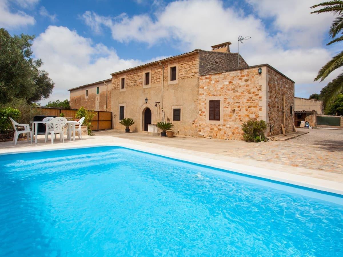 Casa para cuatro huéspedes en Es Llombards (Mallorca).