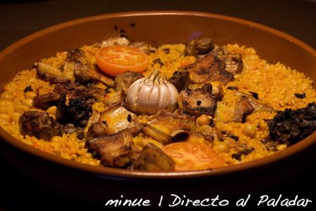arroz al horno - presentación