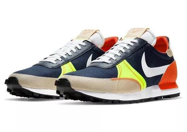Zapatillas de deporte en azul marino y naranja Dbreak-Type SE de Nike