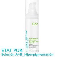 Probamos la Emulsión Ligera Hidratante B22 de Etat Pur