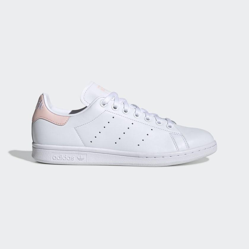 Zapatillas blancas y rosas