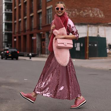 Cinco maneras de dar salida a los vestidos de lentejuelas después de Navidad