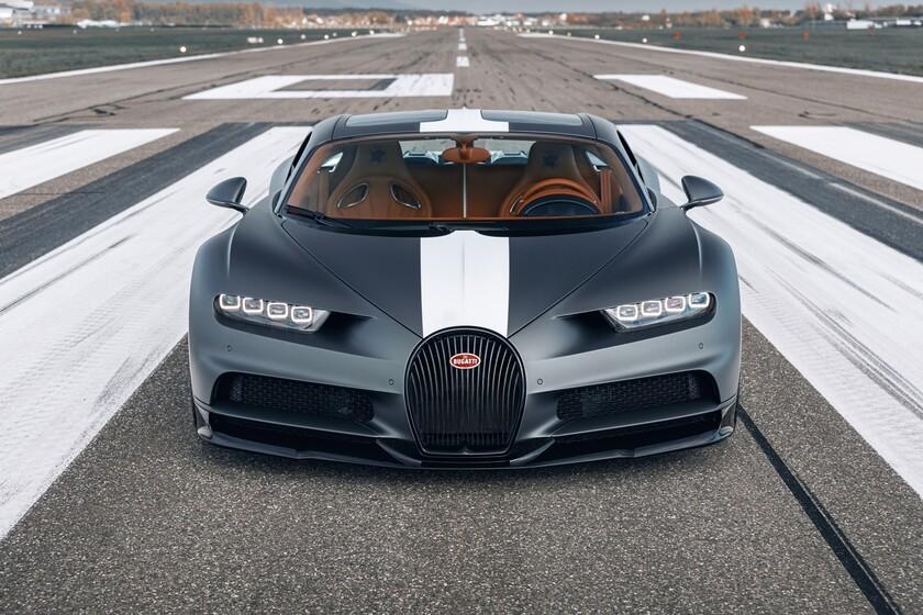 """Bugatti Chiron Sport """"Les Légendes du Ciel"""": un tributo de 20 unidades, 1.500 CV y 2,88 millones ..."""