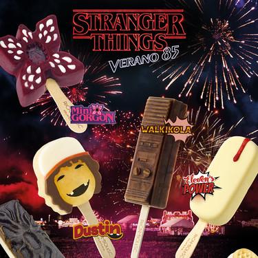 Así son los helados de Jordi Roca para 'Stranger Things': divertidos, frikis y limitadísimos (y se van a repartir gratis)