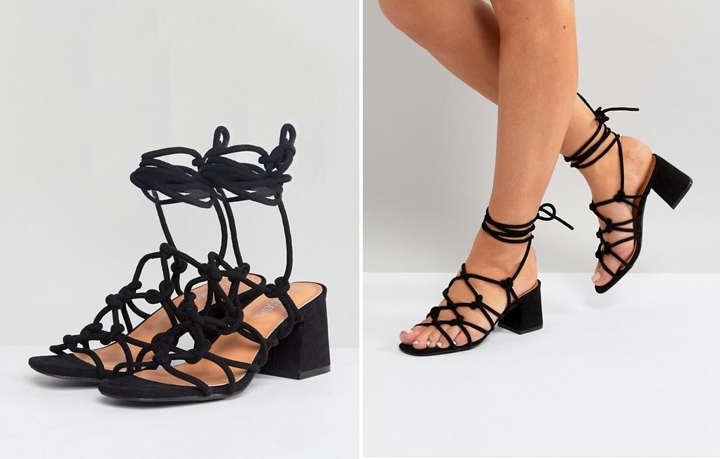 Sandalias de cordones
