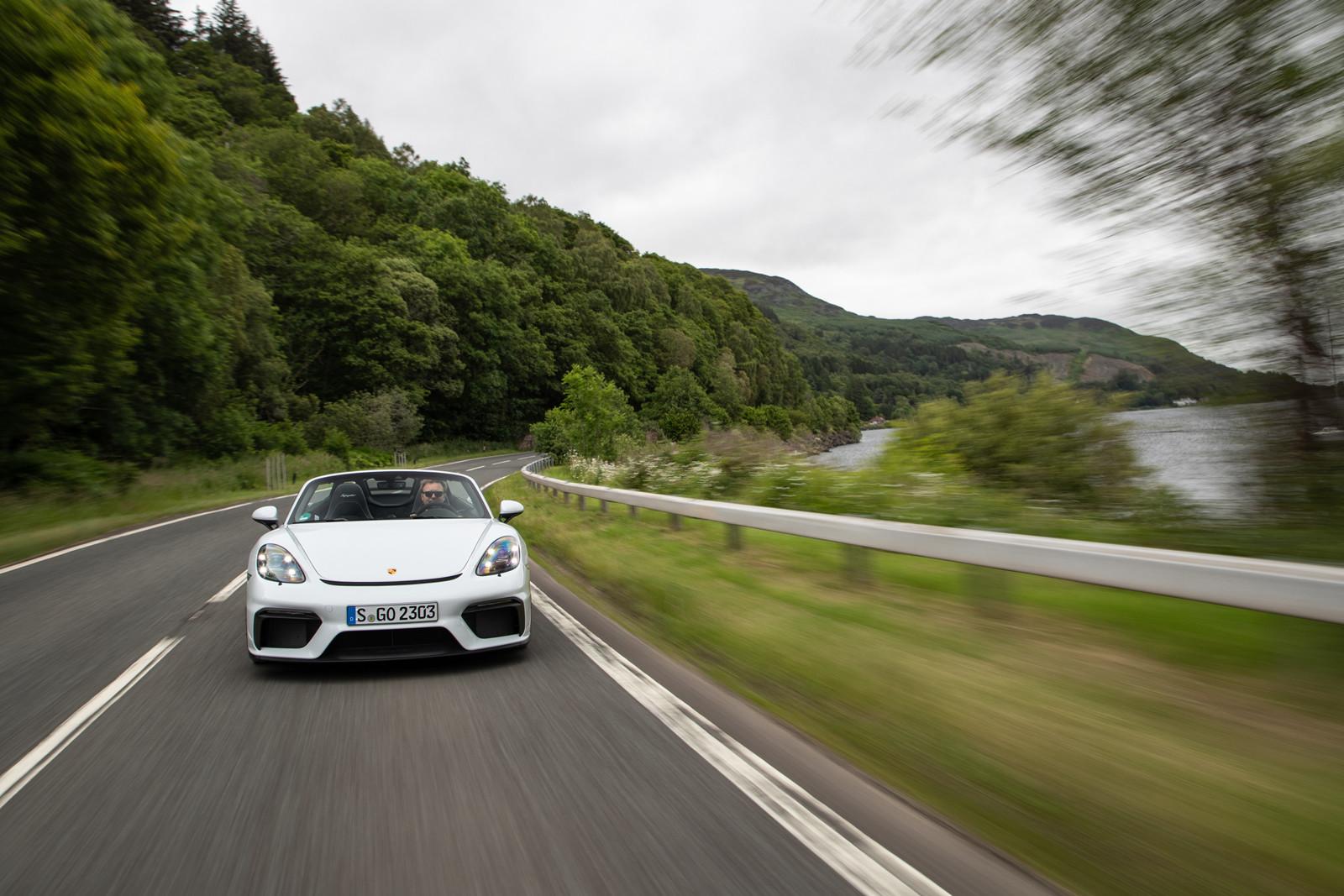 Foto de Porsche 718 Spyder (prueba contacto) (73/296)