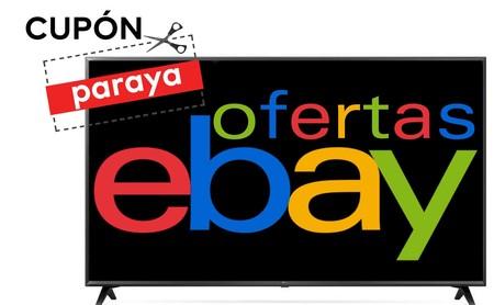 El cupón PARAYA de eBay te ayuda a cambiar de smart TV con estas ofertas en LG y Samsung