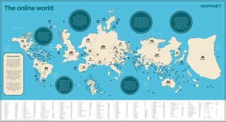 19 mapas que explican la geografía de Internet