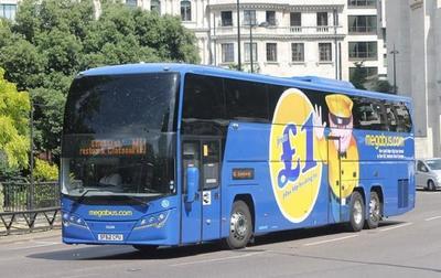 Megabus, la línea de autobuses low-cost que circula por Europa, ya tiene parada en Barcelona
