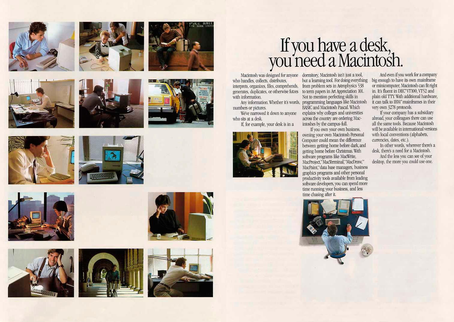 Foto de Presentación del Macintosh en Newsweek (6/11)