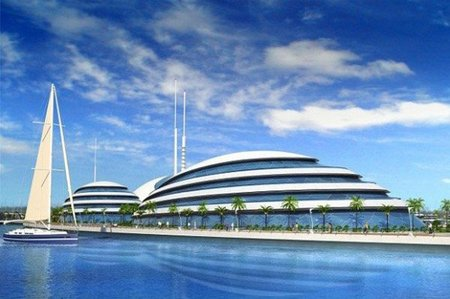 Anfibios 1000, nuevo resort de lujo en Qatar