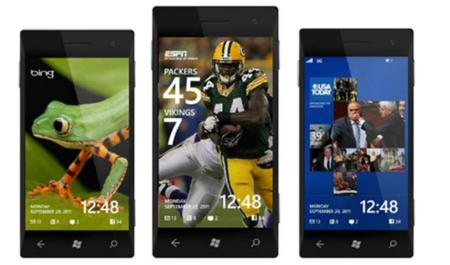 Windows Phone 8 podría tener pantallas de bloqueo con actualizaciones