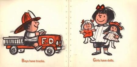 Anuncios de juguetes sexistas