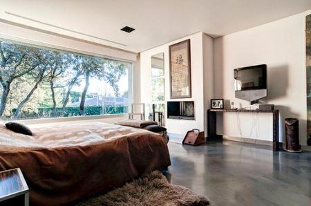 Dormitorio ventanal