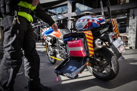 Motorcycle Paramedic Ambulance Photo Story 78