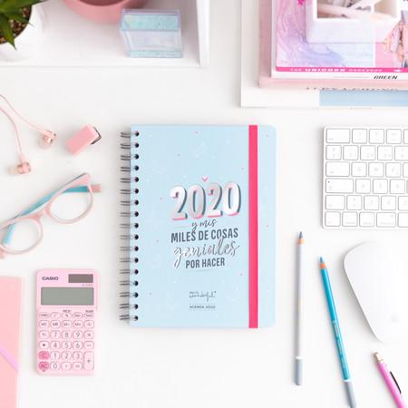 Agenda Clasica 2020 Semana Vista 2020 Y Mis Miles De Cosas Es 1